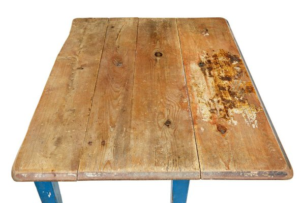 Tavolo da cucina antico allungabile in pino, Svezia
