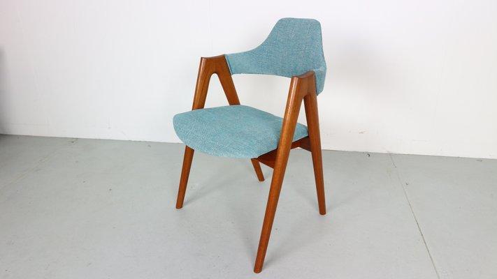 Teak Compass Chairs By Kai Kristiansen For Sva Mobler 1958 Set Of 2