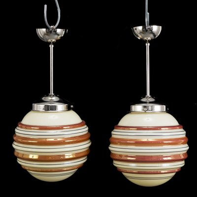 Art Deco Ceiling Lights 1930s Set Of 2 For Sale At Pamono