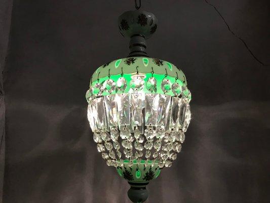 Lampade In Vetro Di Murano Moderne : Lampada a sospensione vintage veneziana in vetro di murano in