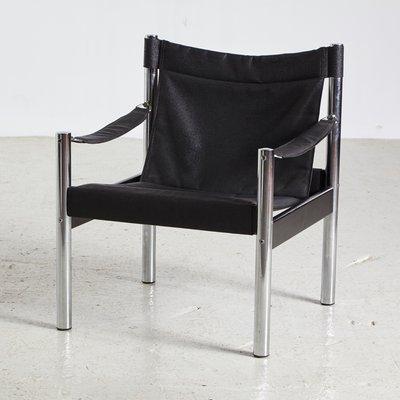 Chaise Safari En Johanson Vintage Sur Vente De Noire Design1960s vOmN08nw