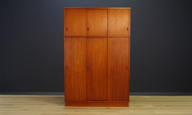 Vintage Danish Teak Wardrobe For Sale At Pamono