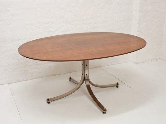 Mesa de comedor ovalada de Sergio Mazza para Arflex, 1962 en venta ...