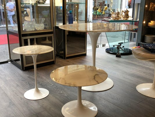 Incredible Vintage Tulip Coffee Table By Eero Saarinen For Knoll Pabps2019 Chair Design Images Pabps2019Com