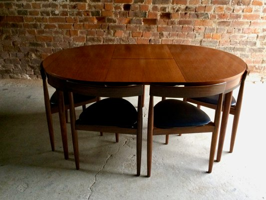 Superb Mid Century Dining Table And 6 Chairs By Hans Olsen For Frem Rojle D Caraccident5 Cool Chair Designs And Ideas Caraccident5Info