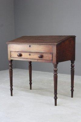 Antiker Sekretär Schreibtisch Aus Mahagoni Bei Pamono Kaufen