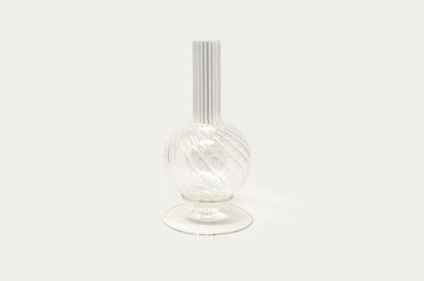 Dervish Mini Vase In Blown Borosilicate Glass By Kanz Architetti For