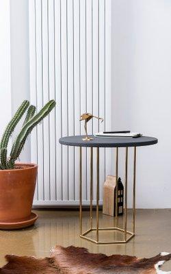Grey Gold Alejandro Coffee Table By Kerem Aris For Uniqka 2