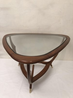 Triangular Mid Century Coffee Table
