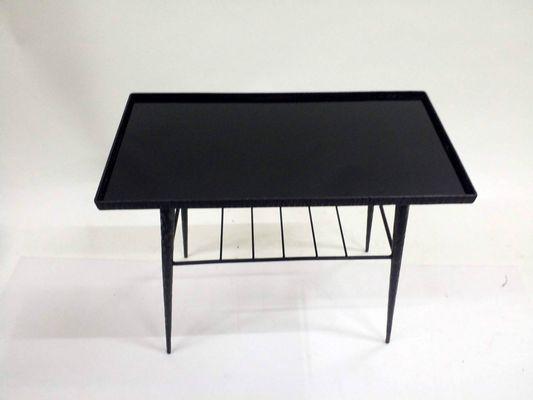 Tavolini In Vetro E Ferro Battuto : Tavolino in vetro e ferro battuto a mano anni in vendita su