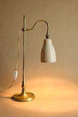 Laiton1920s De Bureau En Lampe Vintage Ajustable kZlPXiOuwT