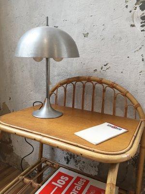 Lampe Champignon Vintage En Aluminium De Disderot 2