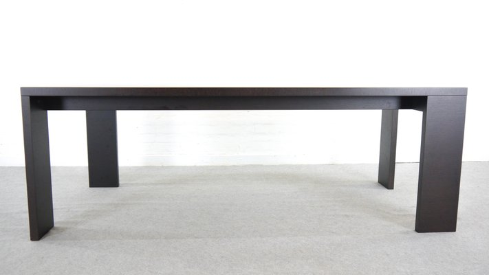 Vintage Alceo Dining Table In Black By Antonio Citterio For B Italia 1
