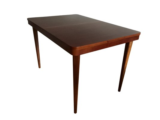 Art Deco Dining Table By Jindrich Halabala For UP Zavody 1940s 2