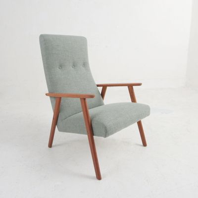 Vintage Easy Chair in Teak 2 - Vintage Easy Chair In Teak For Sale At Pamono
