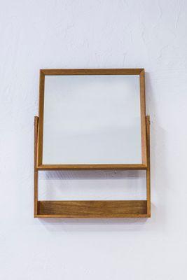 Specchio da parete con mensola di Glas & Trä, anni \'60 in vendita su ...