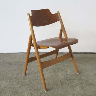Vintage Folding Chairs By Egon Eiermann For Wildespieth Set Of 4