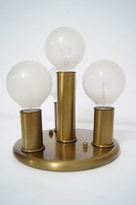 Space Age Brass Sconce 1970s Bei Pamono Kaufen