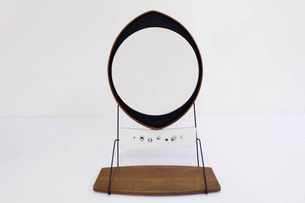 Specchio Drop vintage con mensola, Italia in vendita su Pamono