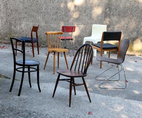 Vintage Chairs Set of 8 2 & Vintage Chairs Set of 8 for sale at Pamono