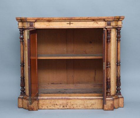 19th Century Birds Eye Maple Cabinet 2