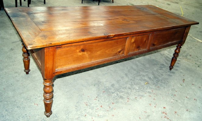 Antique Cherry Coffee Table 1