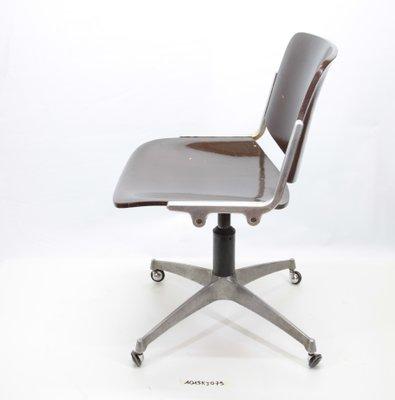 Bureau Pivotante Chaise Anonima De Castelli Vintage ONnm0wv8