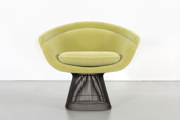 Tremendous Bronze Lounge Chairs By Warren Platner For Knoll 1960S Set Of 2 Gamerscity Chair Design For Home Gamerscityorg