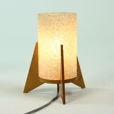 Spacecraft Table Lamps by Pavo Ikostan from Pokrok, 1970s, Set of 2 5