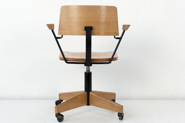 Sur Chaise Bureau Roues Giroflex1969 Stoll De KJu153lTFc