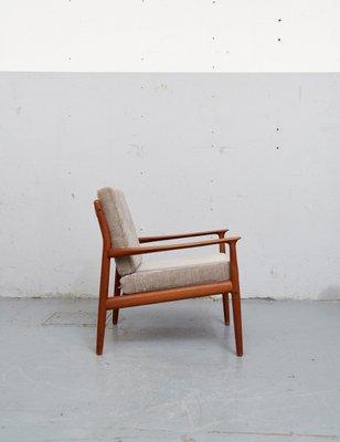 Vintage Teak Easy Chair By Svend Age Eriksen For Glostrup Bei Pamono