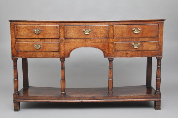 Antique Oak Console Table 1780s For Sale At Pamono