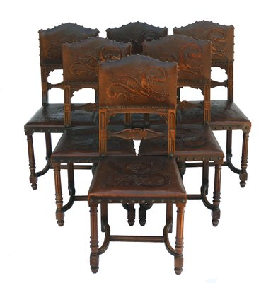 Antique Dining Chairs >> Antique Dining Chairs 1890s Set Of 6 For Sale At Pamono