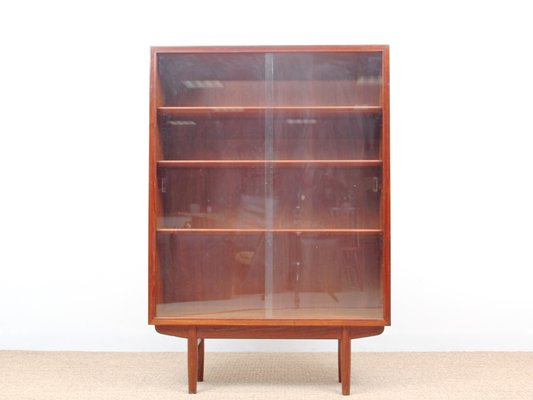 Mid Century Danish Teak Display Cabinet By Borge Mogensen For Soborg