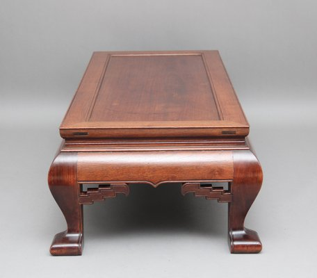 Enjoyable Antique Chinese Hardwood Coffee Table Gmtry Best Dining Table And Chair Ideas Images Gmtryco