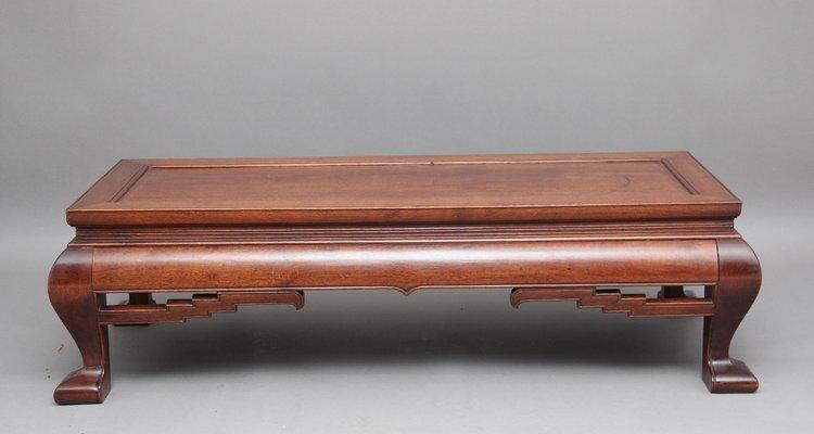 Tavolino Basso Antico.Tavolino Da Caffe Antico In Legno Cina