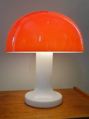 Lampe Champignon Vintage En Verre Par Michael Bang 2