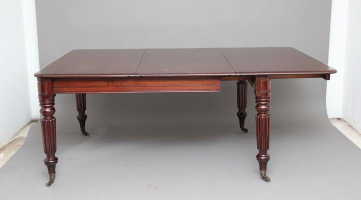 Antique Mahogany Extendable Dining Table 5