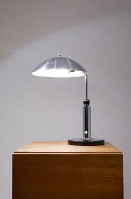 Vintage Chrome Desk Lamp From KMD Daalderop