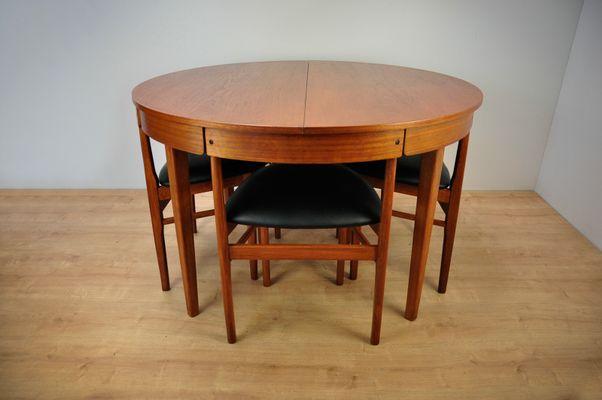 Table Et Chaises De Salle A Manger Vintage De Mcintosh 1960s En