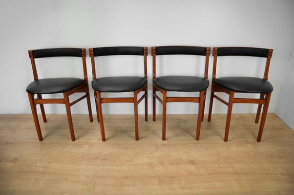 Vintage Dining Table and Chairs Set from Mcintosh, 1960s 8 - Vintage Dining Table And Chairs Set From Mcintosh, 1960s For Sale At