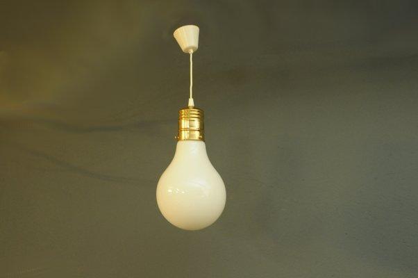 Lampade In Vetro A Sospensione : Lampada a sospensione vintage in vetro danimarca in vendita su pamono