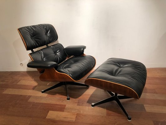 Groovy Lounge Chair And Ottoman By Charles Ray Eames For Mobilier International 1982 Uwap Interior Chair Design Uwaporg
