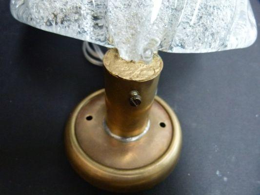 Lampada Vintage Da Parete : Lampada da parete vintage in vetro di murano di gianni seguso in