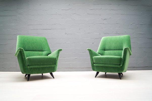 Italienische Sessel 1950er 2er Set Bei Pamono Kaufen