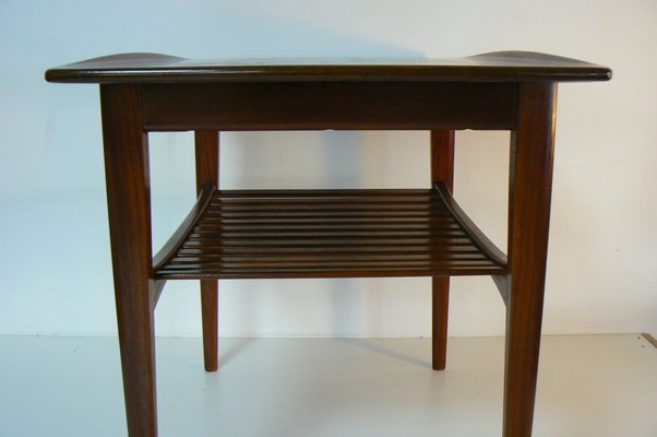 Sidetable Teak 3 Lades.Teak Side Table By Tove Edvard Kindt Larsen For France Son 1956