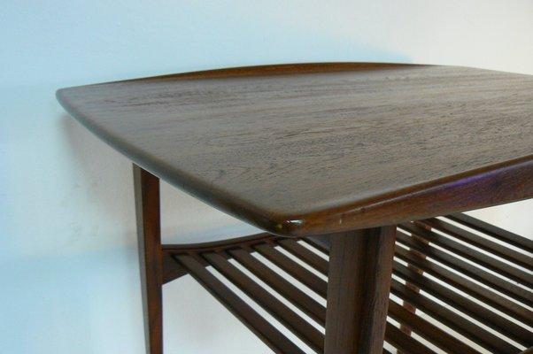 Teak Side Table By Tove Edvard Kindt Larsen For France Søn 1956 For Sale At Pamono