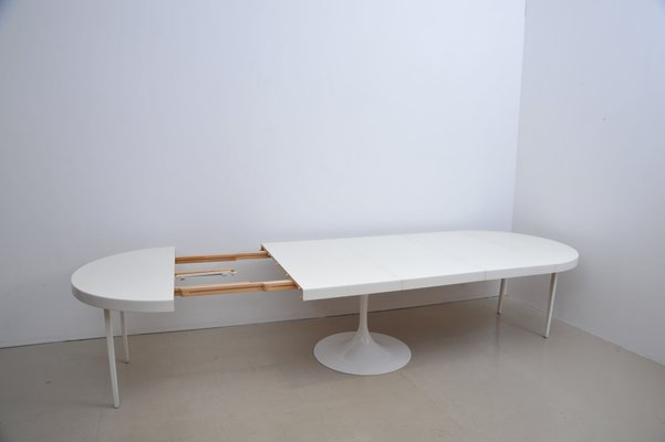 Groovy Large Extendable Table With Tulip Base From Cor Uwap Interior Chair Design Uwaporg