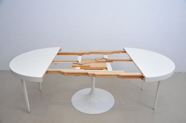 Large Extendable Table With Tulip Base From Cor 2