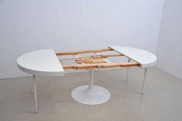 Großer Ausziehbarer Tisch Mit Tulpenfuß Von Cor Bei Pamono Kaufen